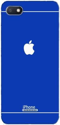 Mobi Elite Back Cover for Mi Redmi 6A(Blue, Plastic)