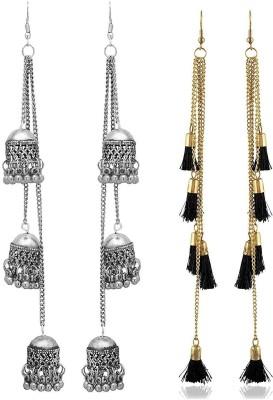 53f0d7220 Chooz Designer Studio Kaju Bali Stud Earrings Punk Pack Of 3 Alloy ...