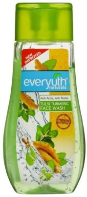 EVERYUTH NATURALS Tulsi Turmeric Face Wash Anti Acne & Anti Marks 100 Gm Face Wash(100 g)