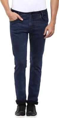 Mufti Skinny Men Blue Jeans at flipkart