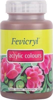 Fevicryl Acrylic Colour (500 Ml) Dark Brown(Set of 1, Dark Brown)