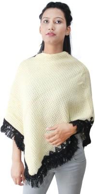 HAUTEMODA Pure Wool Poncho