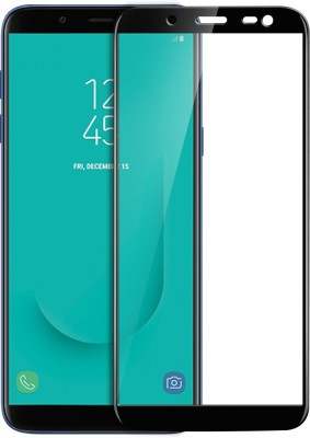 Knotyy Tempered Glass Guard for Samsung Galaxy A8 Plus(Pack of 1)