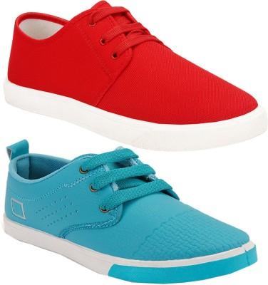 Super Matteress Combo(SR)-1077-1024 Sneakers For Men(Red)