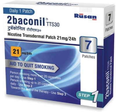 2baconil 1087772731 24 hour patch Smoking Patch(Pack of 7)