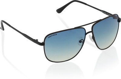 Fastrack Rectangular Sunglasses(Blue)