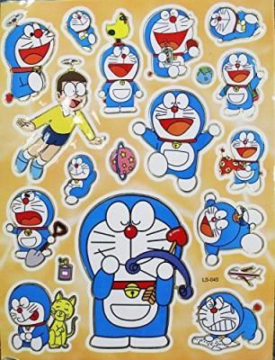Doraemon Varying Poses Assorted Sticker Set (19 Stickers)