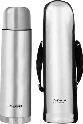 Flipkart SmartBuy Thermosteel Push Lid 1000 ml Flask  (Pack of 1, Silver)