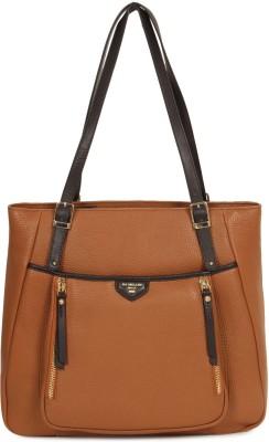 Da Milano Women Tan Shoulder Bag