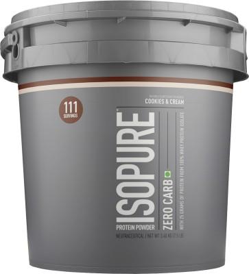 Isopure Zero Carb Whey Protein(3.4 kg, Cookies & Cream)