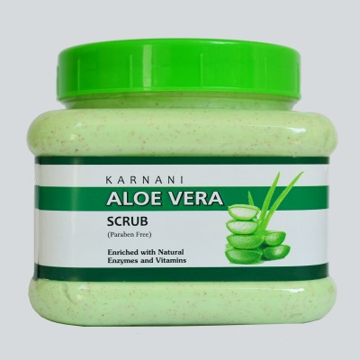 KARNANI Aloe Vera Scrub (450g) Scrub(450 g) 1