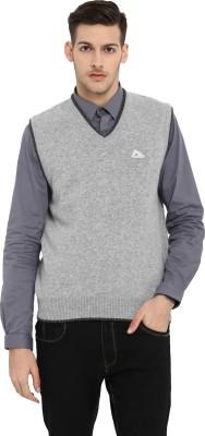 Monte Carlo V-neck Solid Men Pullover