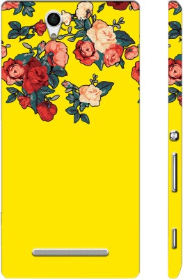 Picwik Back Cover for Sony Xperia C3 Yellow, Waterproof