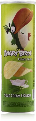 Angry Birds Sour Cream & Onion 160gm Pack of 1 Chips(160 g)