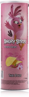 Angry Birds Thai Style 160gm Pack of 1 Chips(160 g)