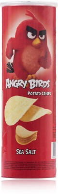 Angry Birds Sea Salt 160gm Pack of 1 Chips(160 g)