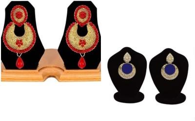 Jewels Gehna Cubic Zirconia Alloy Chandbali Earring Jewels Gehna Earrings