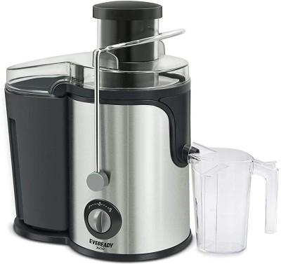 EVEREADY Present High efficiency Juicer J600 600 Juicer (1 Jar, Black)
