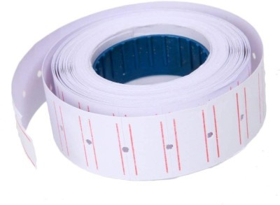 Niyam 10 Rolls X 60 Labels self adhesive Paper Label  White  self adhesive Paper Label White