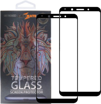 Callmate Tempered Glass Guard for OnePlus 5(Pack of 2)