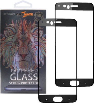 Callmate Tempered Glass Guard for OPPO Realme 1(Pack of 2)