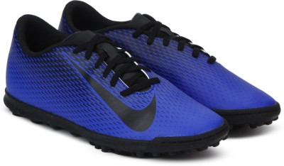 Nike BRAVATA II TF Football Shoes For Men(Blue) 1