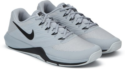 Nike LUNAR PRIME IRON II Walking Shoes For Men(Grey) 1