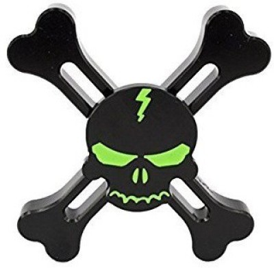 Glowing Skull Design Fidget Spinner