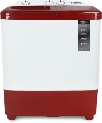 MarQ by Flipkart 6.5 kg Semi Automatic Top Load Washing Machine Maroon, White(MQSA65DXI) (MarQ by Flipkart)  Buy Online