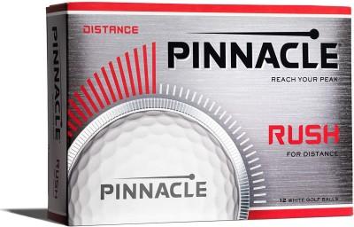 Pinnacle NEW Rush Golf Ball(Pack of 1, White)
