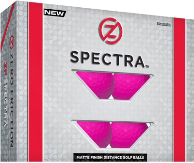 Zero Friction Spectra Golf Ball(Pack of 1, Pink)