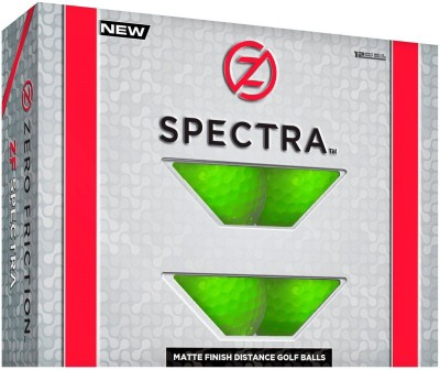 Zero Friction Spectra Golf Ball(Pack of 1, Green)