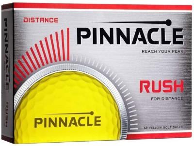 Pinnacle NEW Rush Golf Ball(Pack of 1, Yellow)