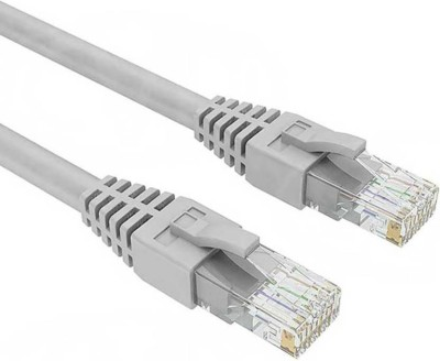 M Mod Con RJ45 CAT5E (350MHz stranded cable) LAN Cable(Compatible with Computer, Laptop, Wireless Routers, Modem, One RJ45 CAT5E LAN Cable (5 Meter)) at flipkart