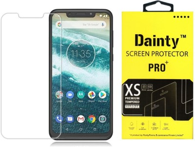 Dainty Tempered Glass Guard for Motorola Moto One Power(Pack of 1)