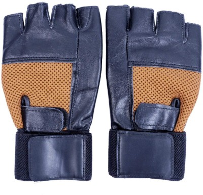 QUINERGYS Gym Gloves with Wrist Support For Men / Fitness Gloves / Weight Lifting Gloves Gym & Fitness Gloves(Multicolor-060)