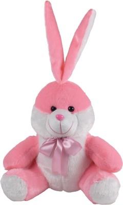 Ultra Sitting Bunny Soft Toy   11 inch Pink Ultra Soft Toys