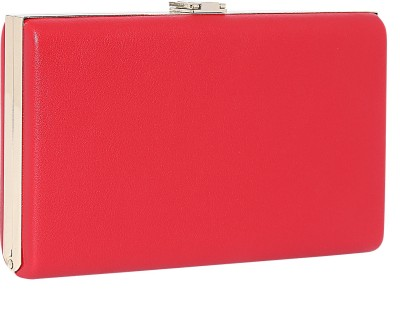 Lino Perros Casual Red  Clutch at flipkart