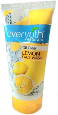 Everyuth Naturals Oil Clear Lemon Face Wash 150gm+15 gm Free (Pack of 1 PC)  Face Wash(165 g)