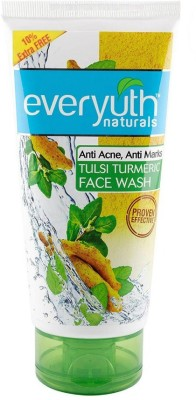 Everyuth aturals Tulsi Turmeric Face Wash, 150ml+15gm Extra Face Wash(165 g)