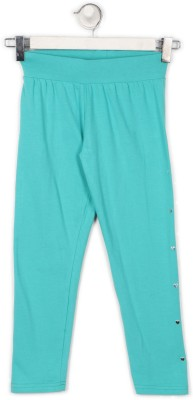 BARE KIDS Jegging For Girls(Blue, Pack of 1) at flipkart