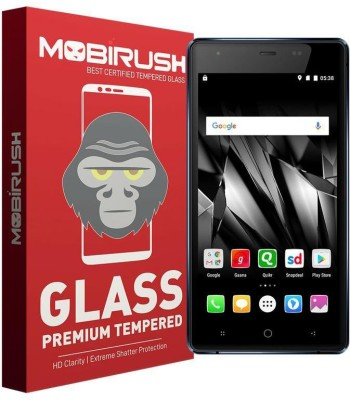 MOBIRUSH Tempered Glass Guard for Micromax Canvas 5 lite Q462(Pack of 1)