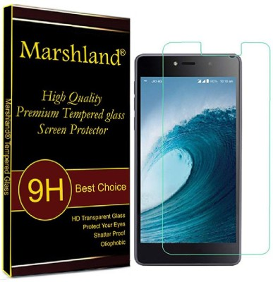 Marshland Tempered Glass Guard for lyf water 1 Pack of 1 Marshland Screen Guards
