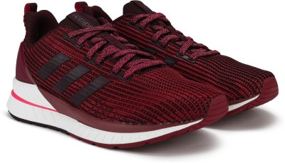 ADIDAS QUESTAR TND Running Shoes For Women(Red, Pink) at flipkart