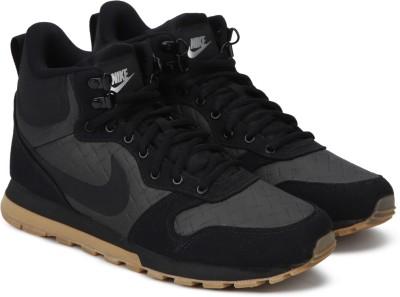 Nike MD RUNNER 2 MID PREM High Tops For Men(Black) 1
