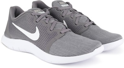 Nike FLEX CONTACT 2 Running Shoes For Men(Grey)