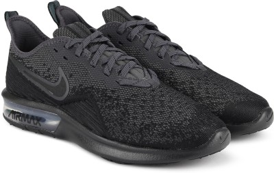 Nike AIR MAX SEQUENT 4 Sneakers For Men(Black) 1