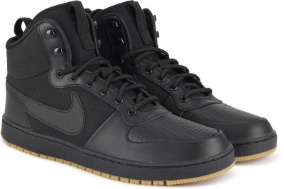 Nike EBERNON MID WINTER Sneakers For Men(Black)