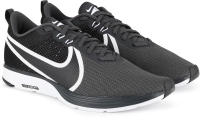 Nike ZOOM STRIKE 2 Running Shoes For Men(Black) 1