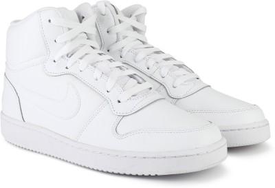 Nike EBERNON MID Sneakers For Men(White) 1
